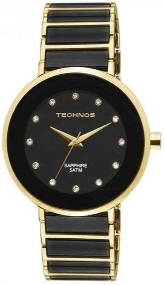 Relógio Technos Feminino Cerâmica E Safira 2035lmm/4p