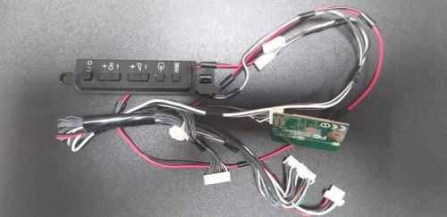 Teclado + Modulo Wifi + Cabos Tv Sony Kdl-40w605b