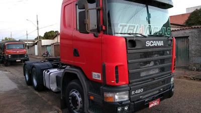 Scania 124 420 6x4 2007 Média