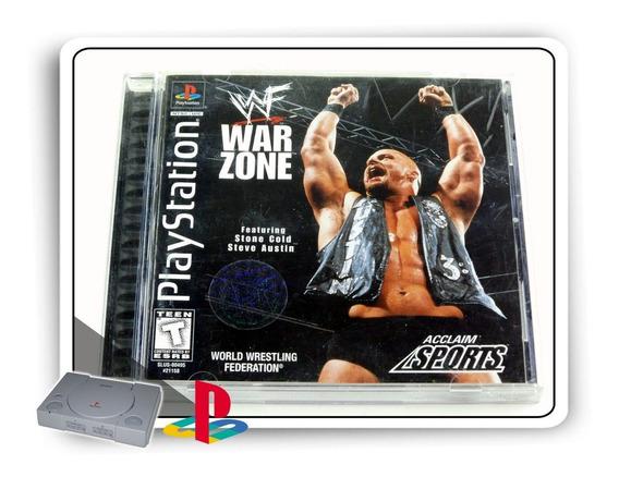 Ps1 Wwf War Zone Original Playstation 1 Psone