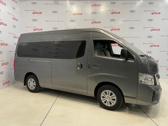 Nissan Nv350 Urvan 2.5 L 15 Pas Amplia Aa Pack Seg Mt