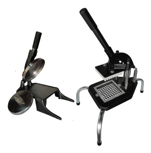 Kit Modelador De Hamburguer + Picador De Legume Batata Medio