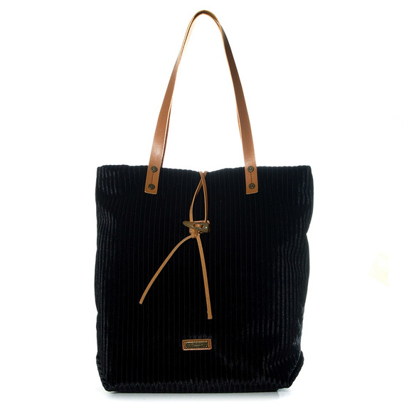Tote Mujer Xl Extra Large Gabriela Negro