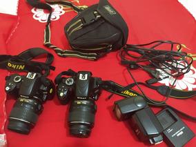 2 Máquinas: Nikon D60 E Nikon D5100 Por R$ 2.000