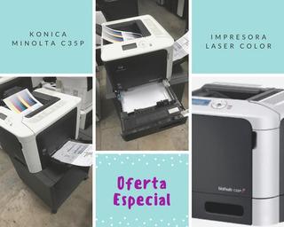 Impresora Color Konica Minolta C35p Usada C/gtia