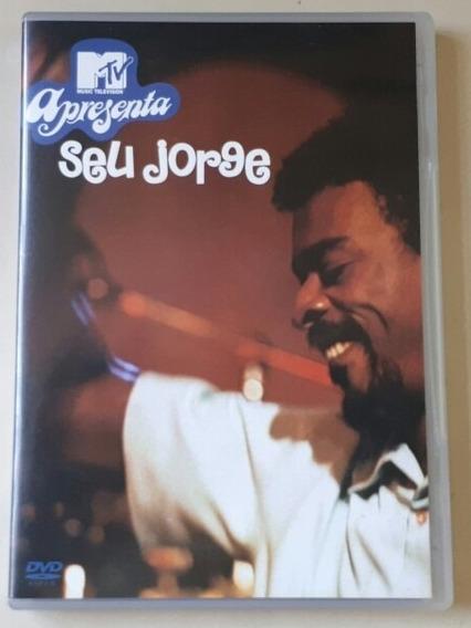 Dvd Seu Jorge - Mtv Apresenta Seu Jorge - Original