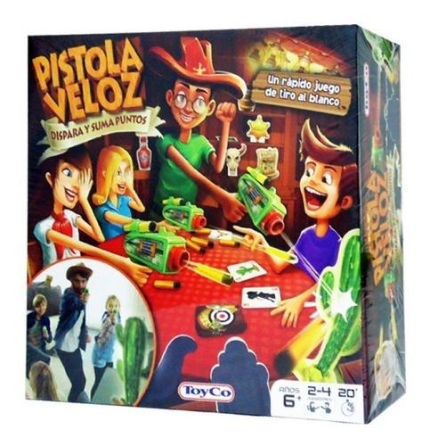 Pistola Veloz Nuevo Juego De Tiro Al Blanco Original Toyco