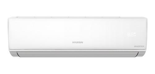 Aire acondicionado Hyundai split inverter frío/calor 4592 frigorías blanco 220V HY6INV-5000FC