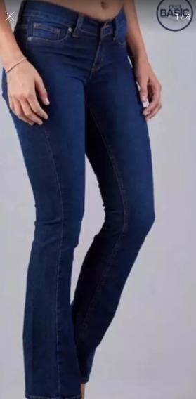Jeans Semi Acampanados Tallas Extra 15 Cintura Push Up Levanta Cola Semi Campana Boot Cut