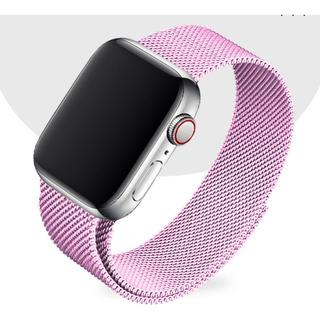 Pulseira Milanese Para Apple Watch 38/40mm - Rosa / Jetech