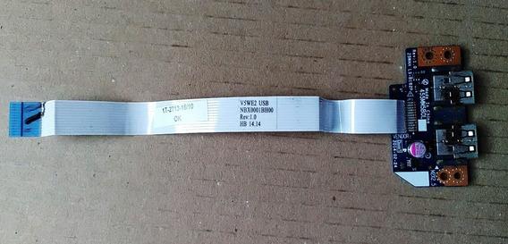 Placa Filha Usb Acer E1-571 E5-511 E5-531 E5-551 E5-571