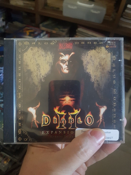 Diablo 2 Expansion Game Cd Rom Original