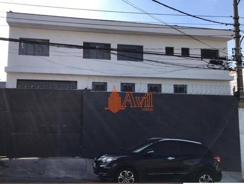 Galpão Para Alugar, 720 M² Por R$ 22.000,00/mês - Itaquera - São Paulo/sp - Ga0211