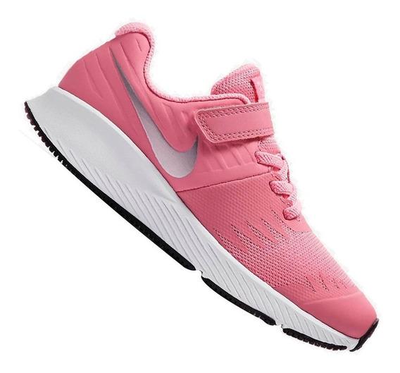 Tênis Nike Infantil Star Runner Rosa Menina 921442601