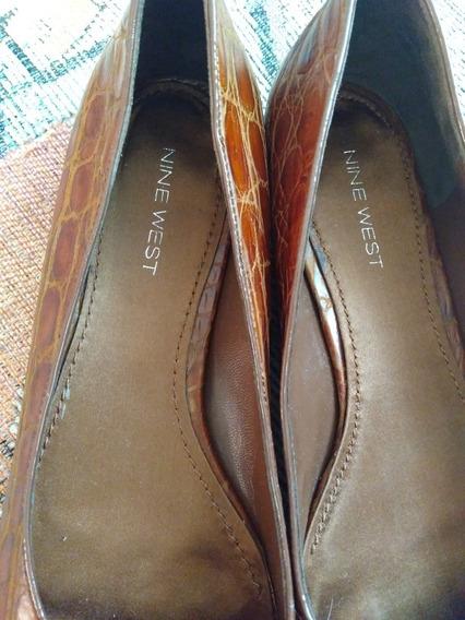 Zapato Dama Tipo Flat Café