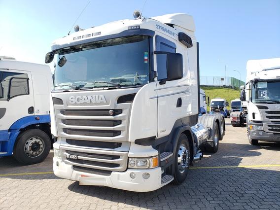 Scania R440 6x2 Streamline Opticruise 2016 / Financiamos