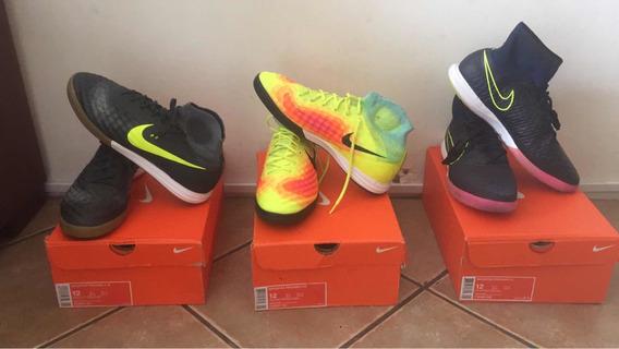 Chuteira Nike Futsal Usada Duas Vezes Magistax Próximo 2