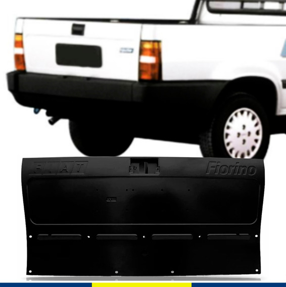 Tampa Traseira Fiat Fiorino Pick Up 1988 1989 A 1996 1997