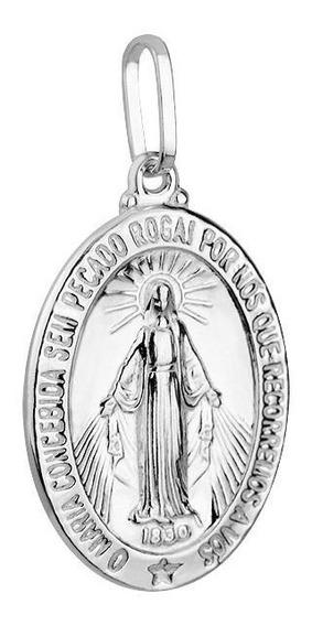 Kit 115 Peças Medalhas Nossa Senhora Das Graças.(prata 950)