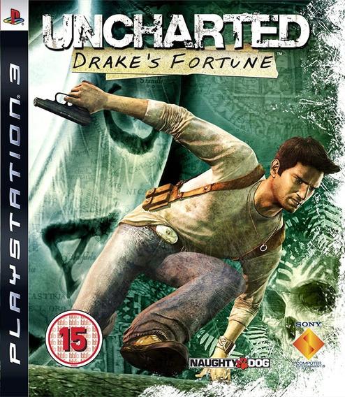 Uncharted Drakes Fortune - Ps3 - Usado - Original