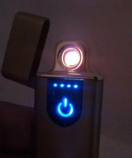 Esqueiro Elétrico Eletrônico Usb Recarregável
