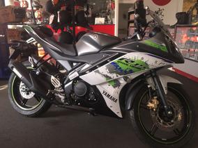 Yamaha R15 2018 0 Km Edicion Especial Gris Y Blanco