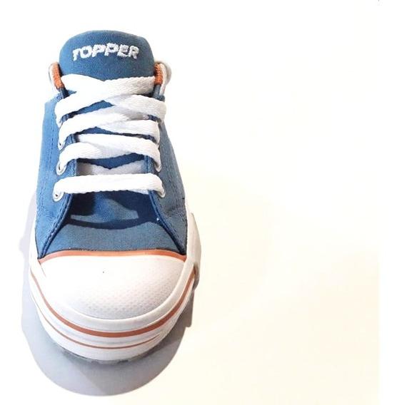 Zapatillas Clásicas Topper Reforzada De Lona.