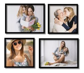 Fotografia Quadros Suas Fotos Personalizado + Moldura