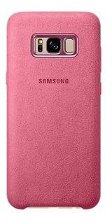 Funda Alcantara Original Samsung S8 S8 Plus + Vidrio Curvo