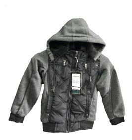 Jaqueta Blusa De Frio Masculina Infantil Moleton Com Capuz