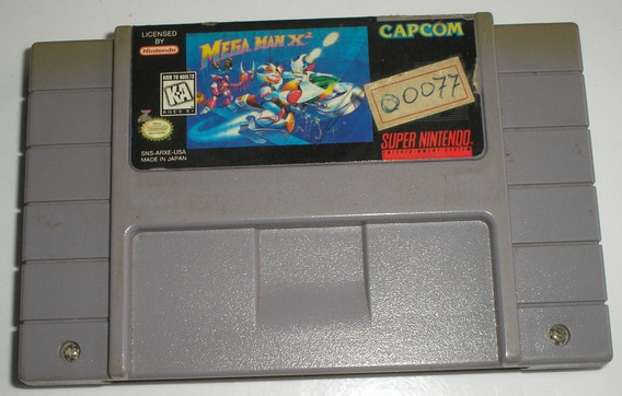 Megaman X2 Super Nintendo Original Usada