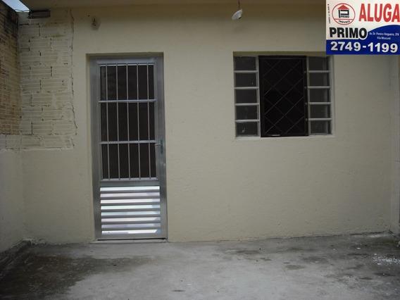 L658 Casa Térrea, Com 40m2 Na Vila Talarico