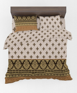 Juego De Sabanas De Algodón Importado Estampado King Size, Alta Calidad, Diseño Elegante