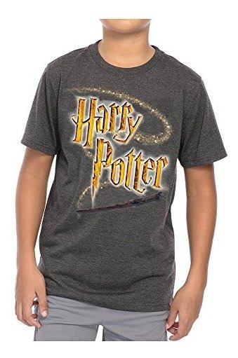 Disney Juventud Unisex T Camisa Harry Potter Varita Logotipo