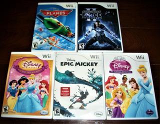 Wii Juegos Sellados Originales Combo X 5, Baratos...