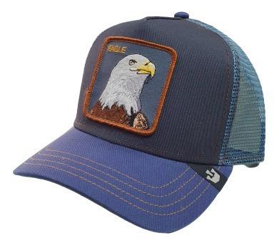Gorra Animales Goorin Bros Eagle Azul Snapback