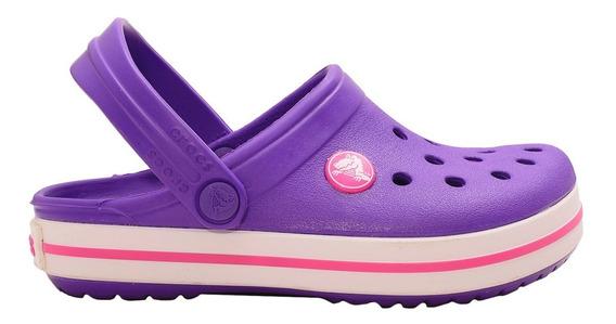 Zuecos Crocs Crocband Kids-c-10998527- Open Sports