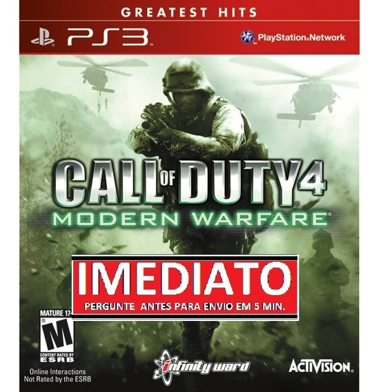 Call Of Duty 4 Modern Warfare Ps3 Psn Midia Digital
