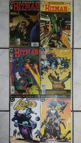 Lote Com 14 Gibis Lobo E Hitman Hq Quadrinhos Revista