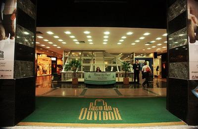 Sala Comercial Shoping Alto Padrão Luxo Ar Central Blindex