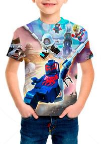Camiseta Infantil Game Lego Marvel Super Heróis 2 - Mn01