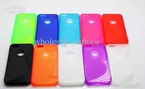 Capa Case iPhone 5 5s Várias Cores + Película + Frete Gratis