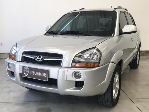 Hyundai Tucson Gls 2.0 Flex 2015 Blindada Inbra Niiia