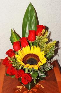 Arreglos Florales Girasoles Plantas En Mercado Libre México