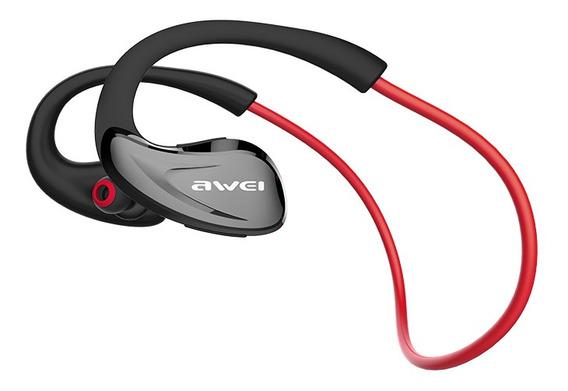 Awei A880bl Auscultadores Sem Fios Bluetooth Vermelho