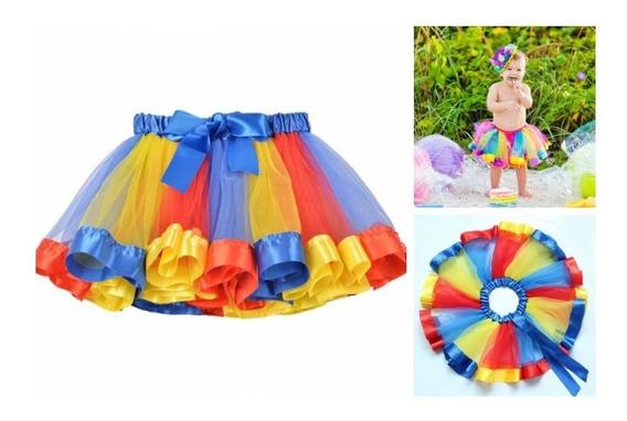 Saia Tule Infantil Bebê Meninas Festa Aniversário Fotografia