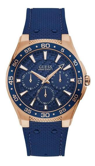 Relógio Guess Masculino, Pulseira De Silicone 92721gpgsru1