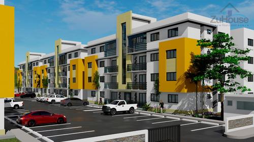 Apartamento En Planos En El Dorado Ii, Santiago Wpa149