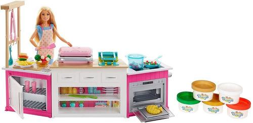 Barbie Chef Cocina Con Muñeca Ultimate Kitchen Mattel