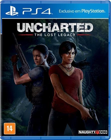 Uncharted Lost Legacy Ps4 Novo Mídia Física Pron/ Entrega